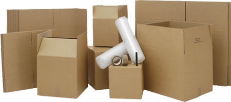 Packaging material for Bristol removals