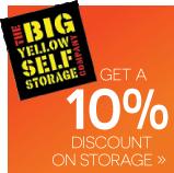10% discount on storage